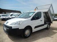 2011 61 PEUGEOT PARTNER 1.6 HDI CAGED TIPPER 34063 MILES FROM NEW DIESEL