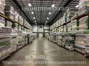 SELECTIONS OF USED MATTRESSES THE BIG IN VANCOUVER AREA ALL SIZE
