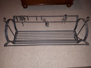 IRON POT RACK FOR SALE