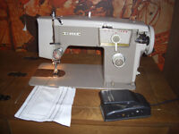 Nelco Sewing Machine, with Desk