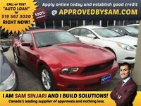 "MUSTANG - TEXT ""AUTO LOAN"" TO 519 567 3020 - APPROVEDBYSAM.COM"