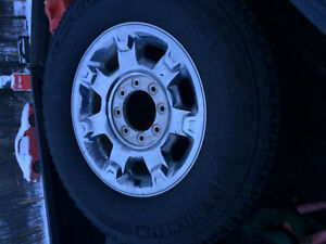 2016 Ford F-350 stock rims and tires
