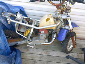 LITTLE DIRTBIKE...GREAT PROJECT BUT HAS RUNNING ENGINE