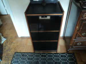 Stereo / entertainment cabinet.