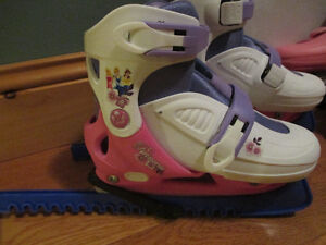 Princess Adjustable Skates - Like Brand New