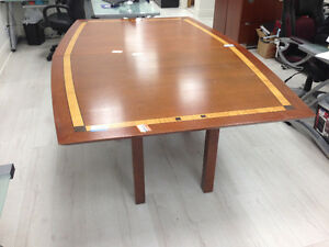 8 Foot Used Conference Table Peterborough Peterborough Area image 1