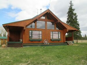 Custom Built House on 160 acres in Fort St. James close to town!