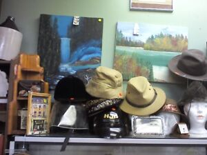 Hats,Hats,Hats!!!HEARTBEAT Thrift Store,BayView Mall,Bell