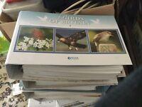 Free for uplift Atlas Editions Birds of Britain 5 folders