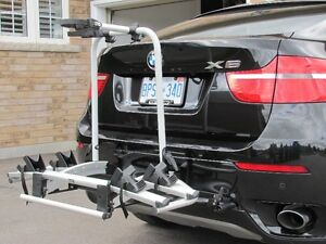 Rear-mounted bicycles rack for BMW X5 or X6 Oshawa / Durham Region Toronto (GTA) image 2