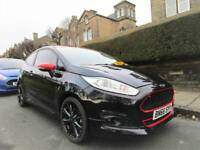 Ford Fiesta 1.0T ( 140ps ) EcoBoost ( s/s ) 2016.75MY ST-Line Black Edition 3 DR