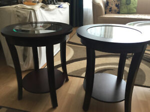 2x End tables