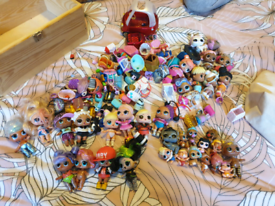 Large bundle lol dolls