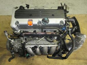 03 07 HONDA ACCORD K24A K242.4L I-VTEC ENGINE JDM ACCORD MOTEUR