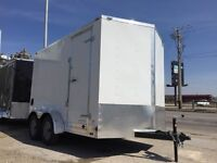 2015 Extra High 7 x 12 Enclosed Cargo Trailers