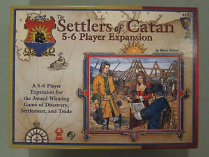The Settlers of Catan 5-6 Player Expansion 3rd Edition Kingston Kingston Area image 1