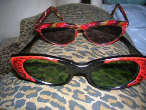 83e47aba19 Chagall and Solflex Cateye Sunglasses Vintage 1960s Made italy