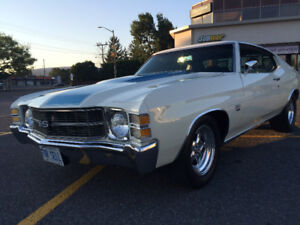 VERY SLICK PURE MUSCLE, 1971 Chevelle BIG BLOCK
