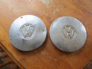 vw beetle or bug hubcaps