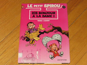 BD/ LE PETIT SPIROU NO 1  3littérature auteur  collection