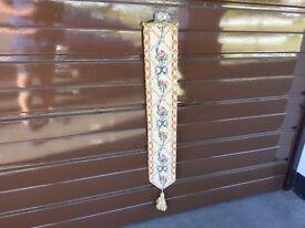 Tapestry Bell Pull