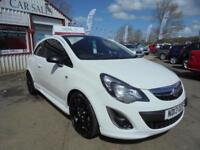 VAUXHALL CORSA 1.2 16V LIMITED EDITION AC 3dr White Manual Petrol, 2013