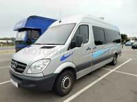Mercedes-Benz Sprinter Campervan 3 Berth, 3 Travelling Seats, Recent Conversion