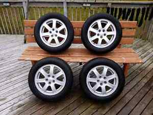 Subaru rims on all season tires
