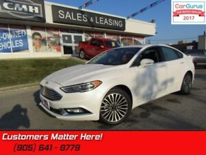 2017 Ford Fusion SE  AWD, NAV, CAMERA, ROOF, HEATED LEATHER SEAT