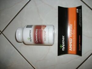 Isagenix - Chewables and AMPED Hydrate