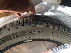 20 inch EAGLE tires