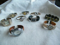 ASSORTED CUFF WATCHES
