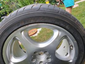 Mercedes wheels & tyres
