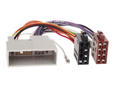 Radio Adapter Kabel FORD FIESTA FUSION JH1/JD3/JU2 2001 - 2005 Stecker KFZ Ford Radio Adapter
