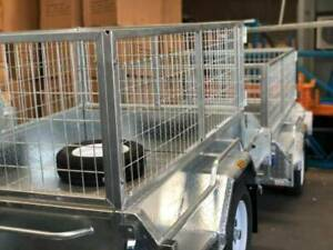 Sale Now On! 7x5 Cage Box Trailer (Not Include spare wheel)*