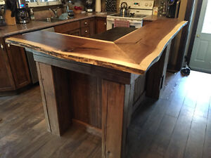 hand crafted timber frame islands and bars Cambridge Kitchener Area image 5