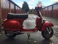 Vespa p200 scooter