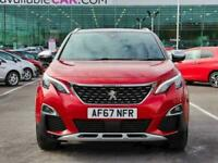 2017 Peugeot 3008 2.0 BlueHDi 180 GT 5dr EAT6 Auto Estate Diesel Automatic