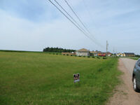 Beautiful country corner Lot near town
