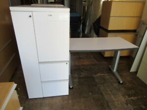 Desk with cabinet $240