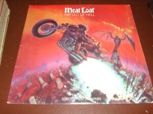 Meat Loaf Record Album