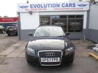 2007 AUDI A3 TDI E SPECIAL EDITION £30 ROAD TAX SERVICE HISTORY 2 KEYS 2 OWNERS