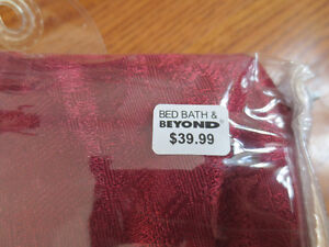 Brand New Never Used Trumpet Valences (Original Packaging) Cambridge Kitchener Area image 3