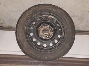 Set of 4 195/60/R15 Snow tires and tims