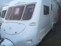 Fleet wood vanlander 5/6berth 2006 twin axle touring caravan