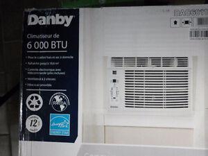 Climatiseur de fenêtre Danby, 6000 BTU