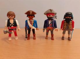 Playmobil Pirate figures