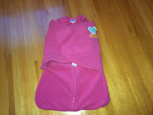 flannel swaddle that convert to sleep sacks. size N