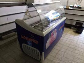 Framec 7 * 5 litre Napoli Ice Cream display freezer