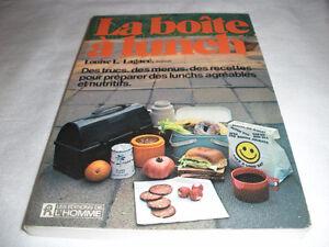 Recettes La boîte à lunch par Louise Lambert-Lagacé
